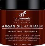 ArtNaturals Arganöl Haarkur-Conditioner-Maske - mit Aloe Vera & Keratin - 236ml - Sulfat Frei