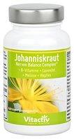 JOHANNISKRAUT - Nerven Balance Complex - 4 natürliche Kräuter gegen Depression (60 Kapseln)