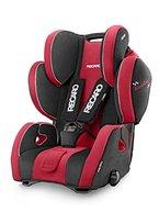 Recaro 6203.21414.66 Young Sport Hero, mitwachsender Kindersitz für Gruppe I-III, rot