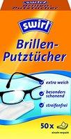 Swirl Brillenputztuch-Spender 50er, 4er Pack (4 x 50 Stück)