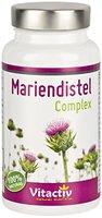 MARIENDISTEL COMPLEX mit Silymarin - Mariendistel + Artischocke + Löwenzahnwurzel + Taurin + Cholin und mehr - Für eine gesunde Leber Funktion (60 Kapseln - Monatspackung)