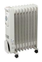 hochwertige Elektro Rippenheizung - Öl-Radiator - 9 Rippen Elektro-Heizung - 2KW mobile Elektroheizung auf Rollen - energiesparsame Raum E-Heizung - Neu und OVP!