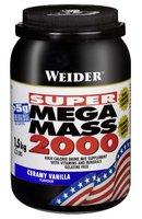 Weider Mega Mass 2000, Vanille (1 x 1.5 kg)