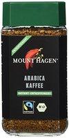 Mount Hagen Arabica Instant entkoffeiniert FairTrade, 2er Pack (2 x 100 g)