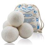 4 x Trocknerball aus 100% Schafwolle zum Strom sparen und für weichere Wäsche. Wäschetrocknerbälle als natürlicher Weichspüler, die umweltschonende Alternative zum Tennisball im Trockner. Umweltschonend gepflegte Wäsche mit Trocknerbällen auch für Allergiker und Babykleidung.