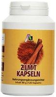 Avitale Zimt Kapseln 500 mg + Vitamin C+E, 120 Stück,  1er Pack (1 x 80 g)