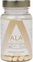 GYM-NUTRITION ALA Alpha - Liponsäure 250mg | 90 hochdosierte vegane Kapseln | Universelles Antioxidant in deutscher Premium Qualität