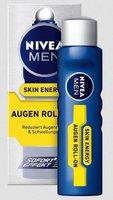 Nivea for Men Skin Energy Augen Roll-on mit Q10 Inhalt: 10ml Gel Roll-on reduziert Augenringe & Schwellungen mit sofort Effekt.