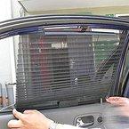 Sonnenblenden für Kinder Sonnenschutz Auto Baby Sonnenblende Auto mit UV Schutz für Kinder Universal Sonnenschutzrollo Sonnenblenden-/Sonnenschutz Popup-System mit Saugnäpfen Einfache und schnelle Anbringung an den ganzen Seitenfenster Sonnenschutz ist dank faltbares Meshmaterial für die meisten PKW Seitenscheiben passgenau