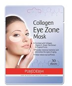 Purederm Augenpads mit Collagen (30 Stück) - Augenpflege - Augenserum - Anti Falten Augenränder - Kühlende Augenpads gegen Augenringe