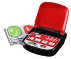 MEDIANA Defibrillator TRAINER T15 mit Kombi-Elektroden und Schnellstart - Funktion