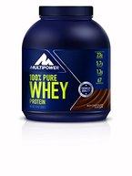 Multipower 100% Whey Protein Choco 2000 g, 1er Pack (1 x 2 kg)