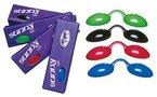UV Schutzbrille Farbe: blau - Solariumbrille, Sonnenschutzbrille, Nasenclip Sunny Light, 600000-blau