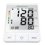 Medisana BU 530 Oberarmblutdruckmessgerät mit Bluetooth zur Datenübertragung an die VitaDock+ App, Ampelskala zur Einstufung der Werte