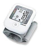 Sanitas Handgelenk-Blutdruckmessgerät mit Bluetooth, innovative Vernetzung zwischen Smartphone und Messgerät via App, 78 x 53 x 26 cm, weiß