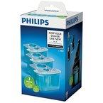 Philips Reinigungskartusche für Rasierer mit SmartCleanSystem JC303/50, 3er-Pack