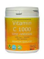 Vitamin C 1000mg TIME RELEASED 500 Tabletten Made in Germany glutenfrei Premium Qualität