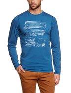 Mammut Herren langärmliges Shirt Stephan, Whale, L, 1041-05131-5641
