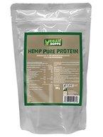 HAMP PURE PROTEIN, Standbeutel 500 g, Hanfprotein als hypoallergene Eiweiß-Quelle aus kontrolliert biologischem Anbau in Rohkost-Qualität.