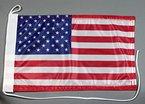 Bootsflagge USA Amerika 20 x 30 cm in Profiqualität Flagge Motorradflagge