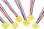 Party 20001 - Medaillen, 6 Stück
