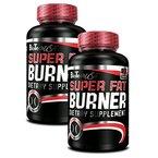 BioTech USA Super Fat Burner 2er Pack, (2 x 120 Kapseln)
