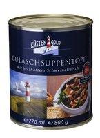 Küstengold Gulasch- Suppe, 3er Pack (3 x 800 ml Dose)