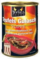 Teufels Küche Teufels Gulasch-Suppe, 6er Pack (6 x 390 ml)
