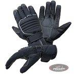 Motorradhandschuhe PROANTI® Regen Winter Motorrad Handschuhe (Gr. M, schwarz)