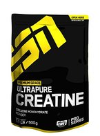 ESN Ultrapure Creatine Monohydrate, Pro Series, 1er Pack (1 x 500g Beutel)