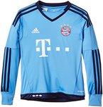 adidas Jungen Fußballtrikot FC Bayern München Replica Heim Torwart, Lucky Blue/Blue, 176, S08658