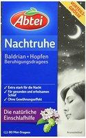 Abtei Nachtruhe Einschlafkapsel, 80 mini-Dragees, 1er Pack (1 x 120 g)