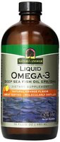 Nature's Answer, Liquid Omega-3, Deep Sea Fish Oil EPA / DHA, natürliches Orangenaroma, 16 fl oz (480 ml)