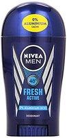 Nivea Men Deo Fresh Active Stick, ohne Aluminium, 3er Pack (3 x 40 ml)