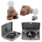 Nestling® 2 x Mini Sound Gerät Hilfsmittel Hörgerät Hörhilfe Hörverstärker