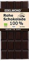 Edelmond® Bio Rohe 100% Kakaobohnen Schokolade ✓ Nur 1 Zutat: Edel-Kakaobohnen ✓ Extrem Bitter ✓ Zuckerfrei ✓ Ohne Zusatz von Kakaobutter oder Lecithin ✓ Handgefertigt ✓ Viele Antioxydantien und Flavanole ✓ Laktose- & Glutenfrei ✓ Vegan & Fairtrade