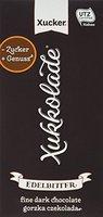 Xucker Zuckerfreie Edelbitterschokolade mit Xylit und Vanille 75% - Xukkolade, 5er Pack (5 x 100 g)