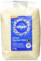Davert Demeter Echter Basmati-Reis, weiß, 1er Pack (1 x 1 kg) - Bio