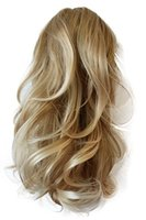 PRETTYSHOP Voluminöses Haarteil Hair Piece Pferdeschwanz Zopf Ponytail ca 35cm diverse Farben (blond mix H91_25T613)