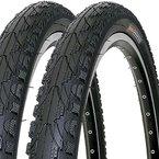 2 x Fahrradreifen Kenda Pannensicher 26 Zoll 26x1.95 50-559 K-Shield inklusive 2 x Schlauch mit Autoventil
