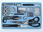 Nähset 143 Teile - Schere, Nahttrenner, Nähmaschinennadeln usw.