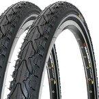 2 x Fahrradreifen Kenda Pannensicher 28 Zoll 28x1.60 42-622 700x40C K935 K-Shield inklusive 2 x Schlauch mit Autoventil