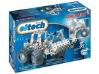 Eitech 00084 - Metallbaukasten Starter-Set - Forstfahrzeuge, 200-teilig