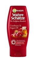 GARNIER Wahre Schätze Spülung / Conditioner für intensive Haarpflege / Schützt die Farbe (mit Arganöl & Cranberry - für coloriertes oder gesträntes Haar) 1 x 200ml