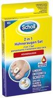 Scholl 2in1 Hühneraugen Set, 1er Pack (1 x 1 Stück)