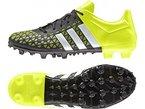 adidas ACE 15.3 FG/AG, Herren Fußballschuhe, Mehrfarbig (Black / Green / White), 44 EU (9.5 Herren UK)