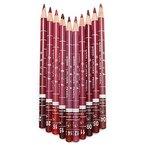 Neverland 10 Farben schicken Frauen Feine Lippenkonturstift Lipliner Wasserdicht Set