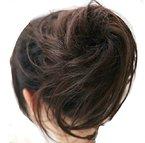 Jm-fashion-supply Zopf Haarknoten Hepburn-Dutt Haargummi Hochsteckfrisuren Div. Farben ZY (dunkelbraun 2/33)