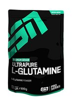 ESN Ultrapure L-Glutamine Powder, Pro Series, 1er Pack (1 x 500g Beutel)