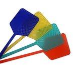 4 Stück Kunststoff Fliegenklatschen verteilt